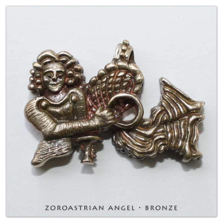 Playa Collection | Zoroastrian Angel • Bronze | Radical Ritual | Burning Man 2017